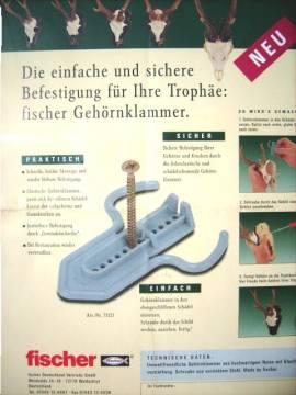 Fischer-Gehörnklammer Nr.:73121 - Bild vergrößern